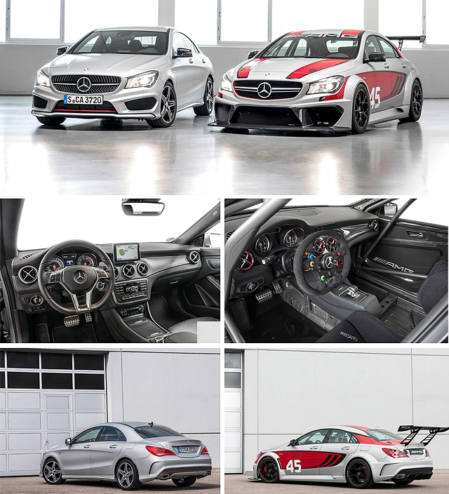 The Mercedes CLA On Steroids: 45 AMG Racing Series