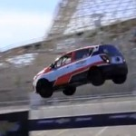 Chevy Sonic backward jump