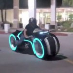 Tron light bike