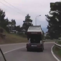 Car-transporting-car