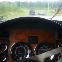 Truck-driver-view