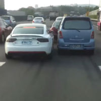 Two-cars-same-lane