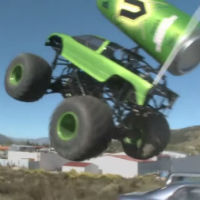 Remote-control-monster-truck