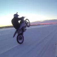 Streetbike-on-ice