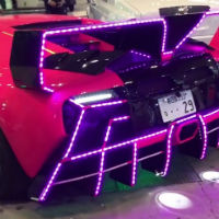 Light-show-lamborghini