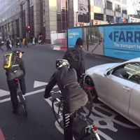 Road-rage-cyclists-and-driver