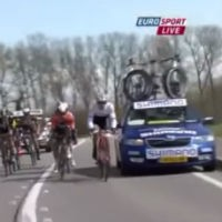 Service-car-takes-out-cyclist