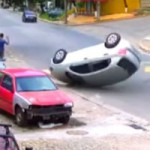 When you speed over a speed bump…