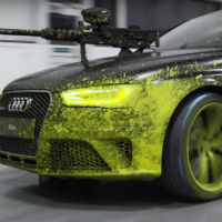 Audi-paintball-duel