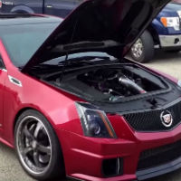Cadillac-cts-with-procharger