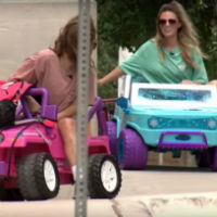 Driving-barbie-jeep-new-trend