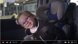 Watch Sophie test drive a Volvo truck. She's only 4-year-old!